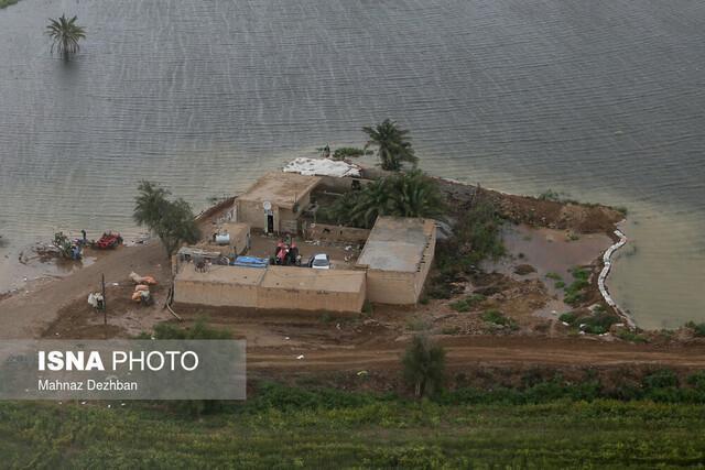 تخلیه 234 روستا در خوزستان ، آب گرفتگی 95 روستا تاکنون