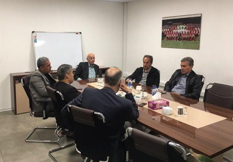 نشست صبحگاهی برانکو با اعضای هیئت مدیره باشگاه پرسپولیس