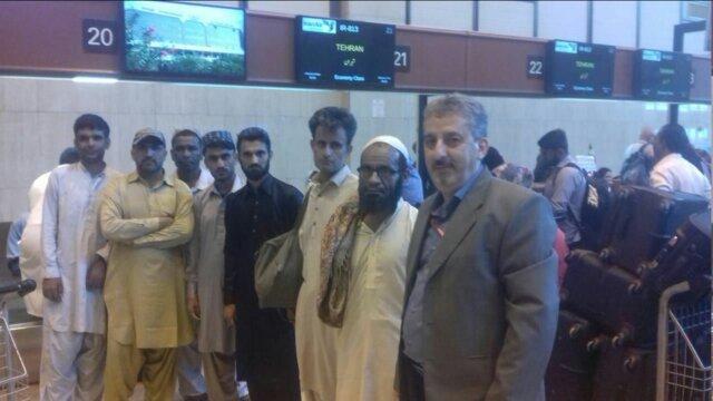 آزادی 6 ملوان ایرانی دستگیر شده توسط گارد ساحلی پاکستان