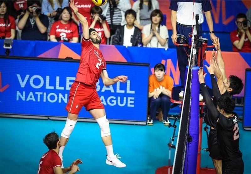 عبادی پور امتیازآورترین بازیکنان ایران مقابل ژاپن شد