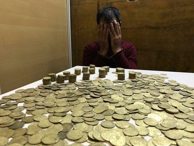 کشف و ضبط سکه های اشکانی حین معامله در رامشیر