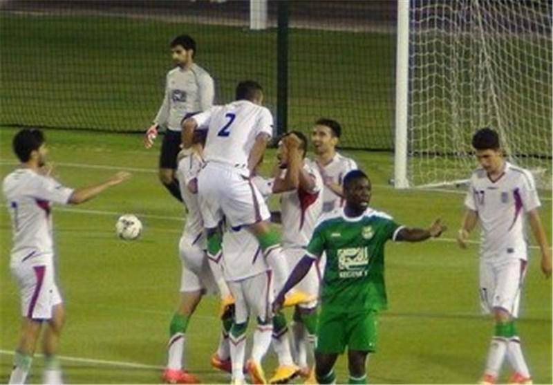 پیروزی امیدهای ایران مقابل عمان در نیمه نخست