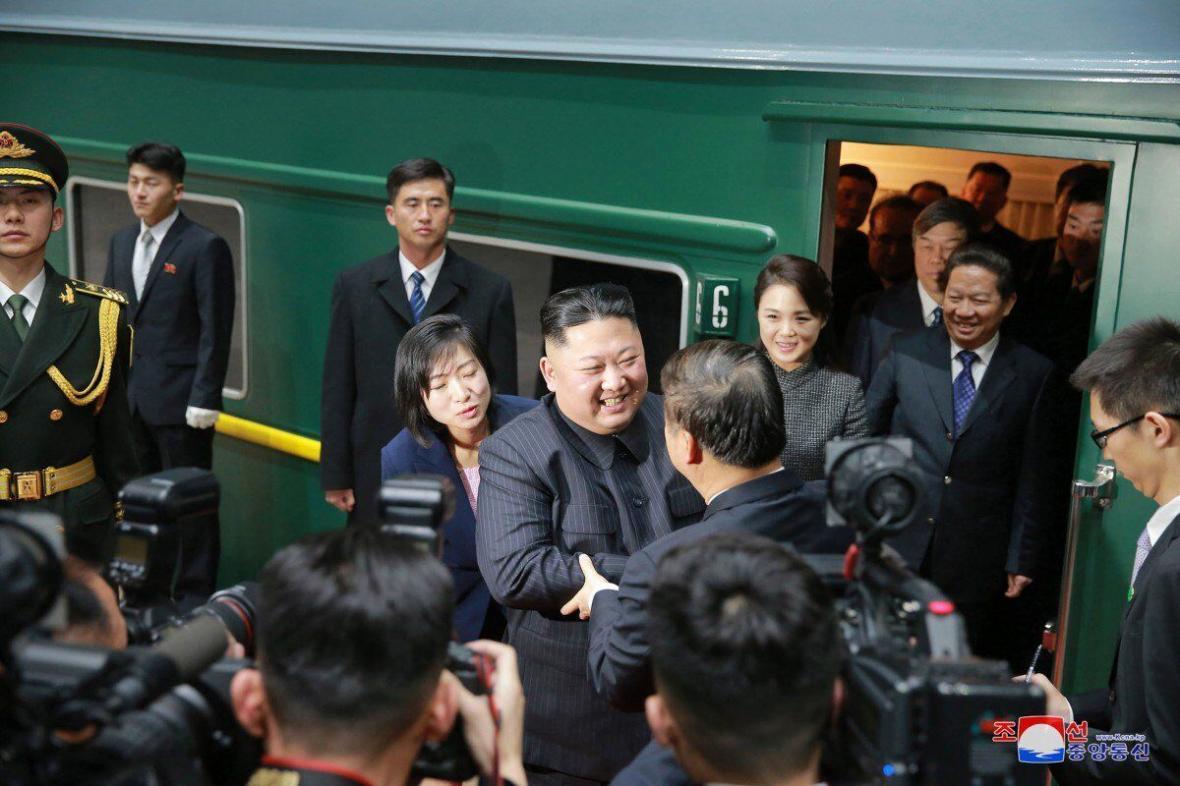 کیم جونگ اون درحال تدارک سفر به چین