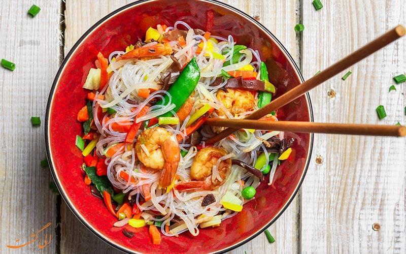 در مناطق مختلف چین چه غذاهایی بخوریم؟