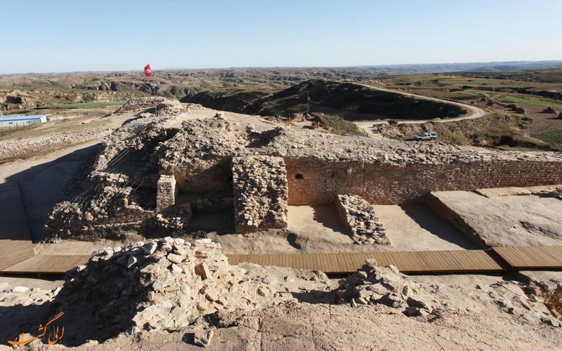 کشف شوکه کننده یک هرم باستانی همانند اهرام مصر در چین!