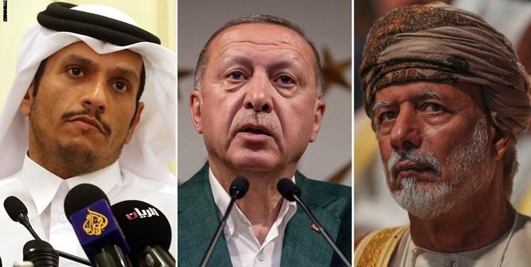 مرور واکنش ترکیه، قطر و عُمان به حادثه آرامکو و اعتراض سعودی ها