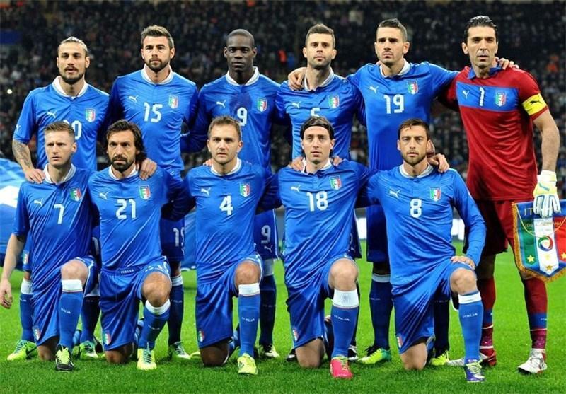 لیست 30 نفره تیم ملی ایتالیا منتشر شد