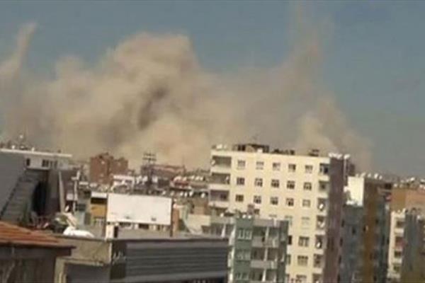 انفجار بمب در دیاربکر ترکیه، 11 تن کشته و زخمی شدند