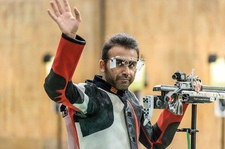 پوریا نوروزیان در تفنگ بادی المپیک بیست و دوم شد ، ایتالیا رکورد زد