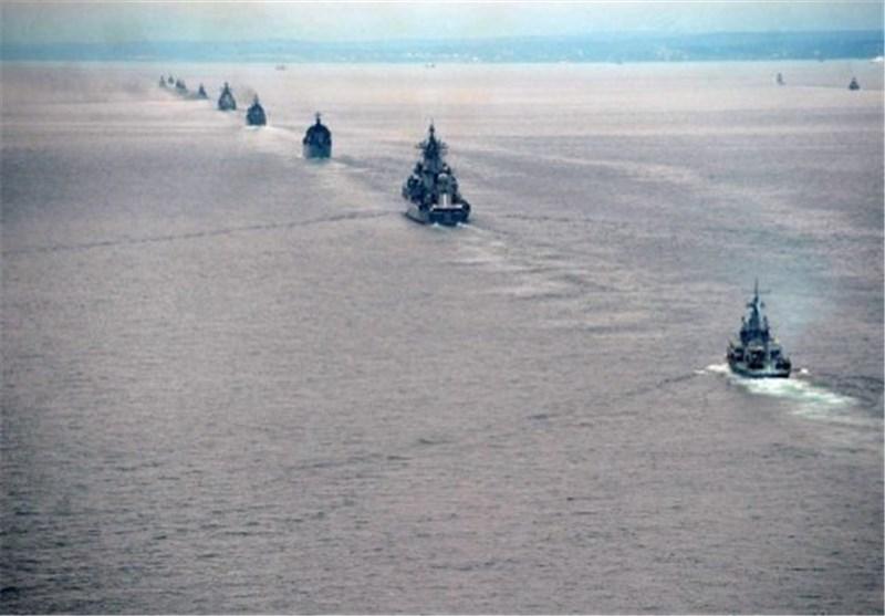 مانور دریایی روسیه و چین برگزار می گردد