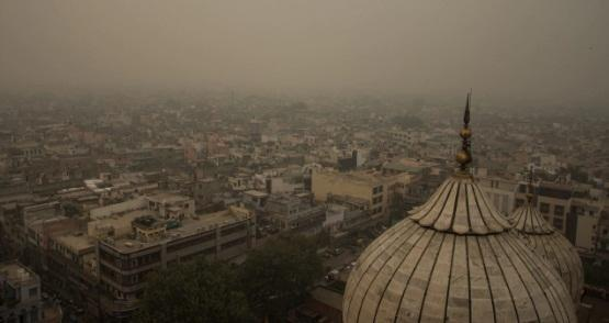 وضعیت بحرانی هوا در هند (