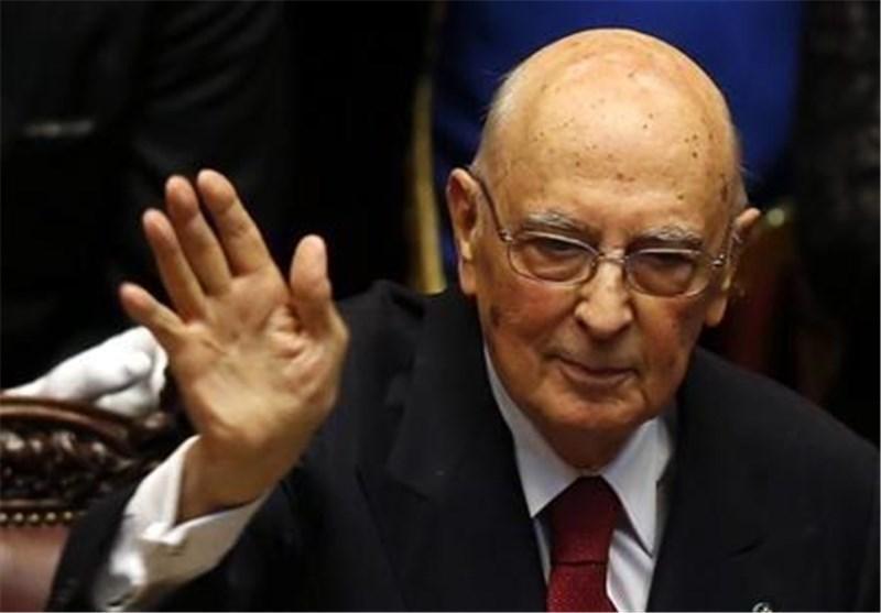 رئیس جمهور ایتالیا اوایل سال آینده میلادی اعلام بازنشستگی می نماید