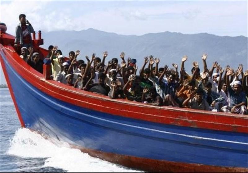 تایلند 260 مسلمان پناه جوی میانمار را به دریا باز می گرداند