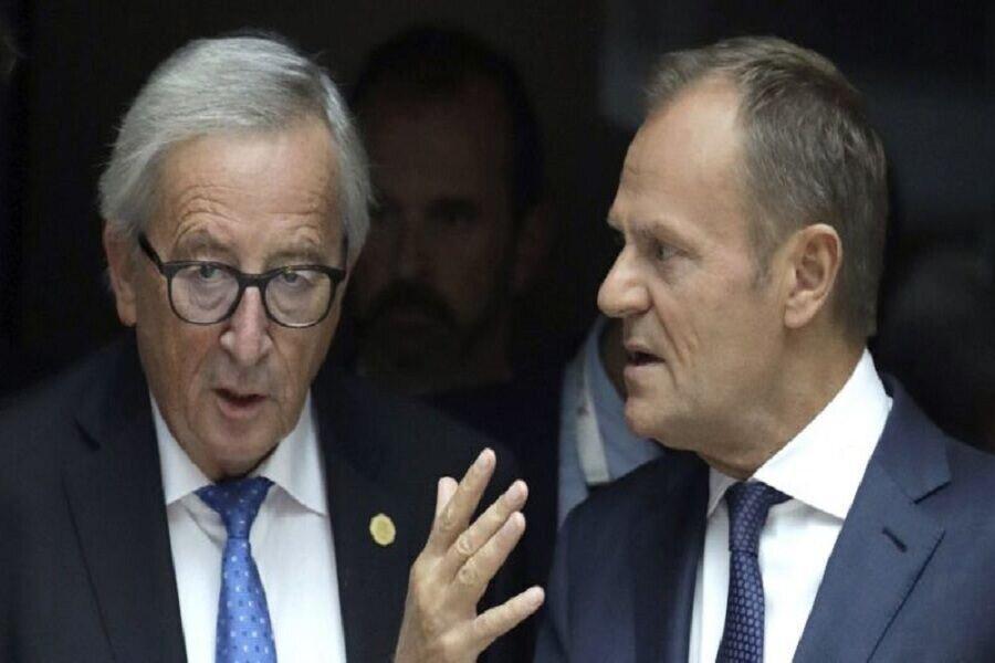 خداحافظی یونکر و توسک از اتحادیه اروپا