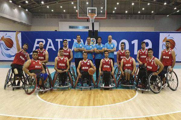 تیم بسکتبال با ویلچر ایران سهمیه پارالمپیک توکیو را کسب کرد