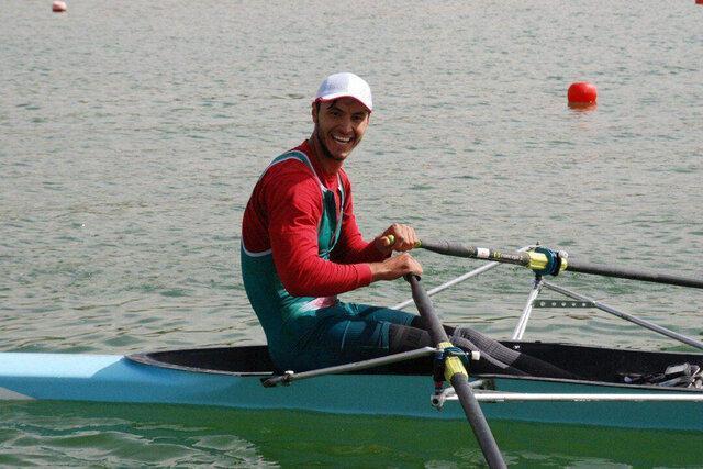 درخشش قایقران زنجانی در مسابقات کاپ آسیا