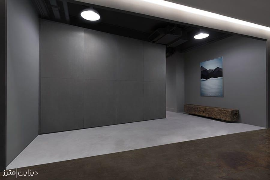 طراحی داخلی مینیمالِ یک استودیو در چین