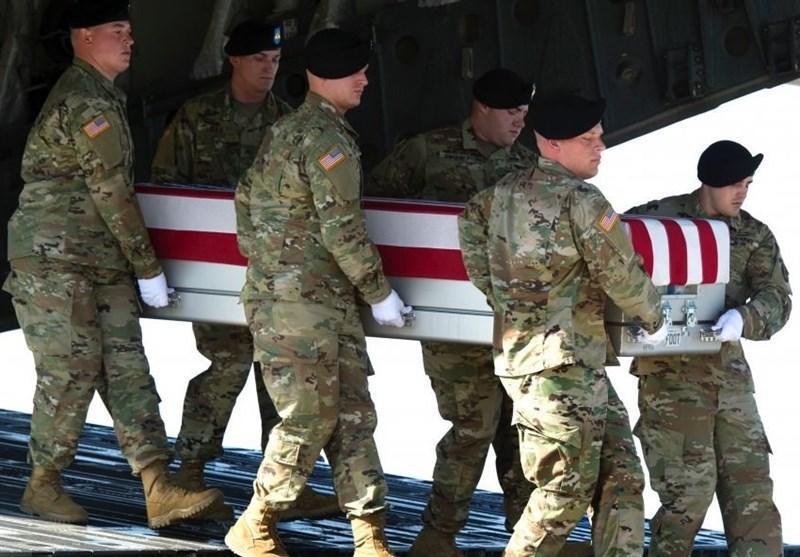 هلاکت یک نظامی ارتش تروریست آمریکا در سوریه