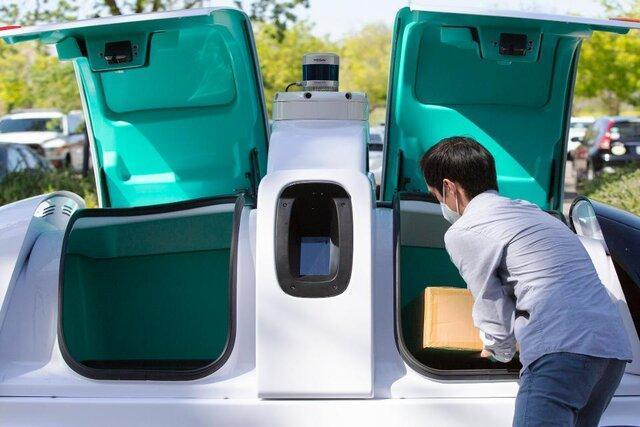 ارسال کالاهای ضروری به بیمارستان ها با روبات خودران