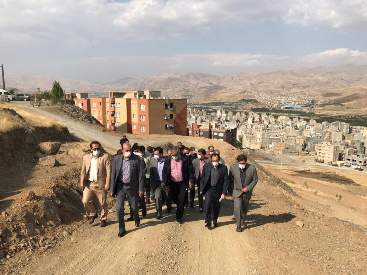 خبرنگاران استاندار کردستان: طرح های عمران شهری سنندج بدون توقف در حال انجام است