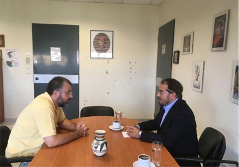 خبرنگاران دبیرکل وزارت امور مذهب یونان: گفت وگوی بین دینی با ایران اهمیت بسزایی دارد
