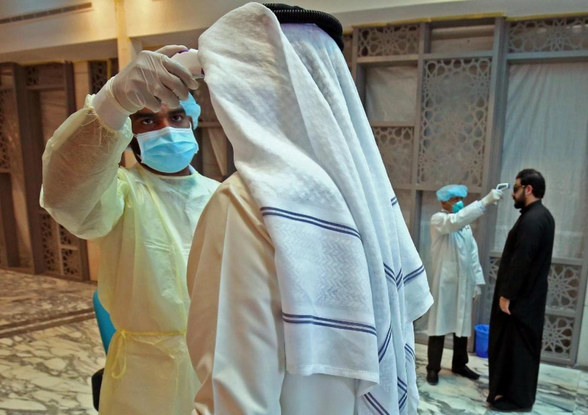 بیش از 100 هزار نفر در عربستان به کرونا مبتلا شده اند