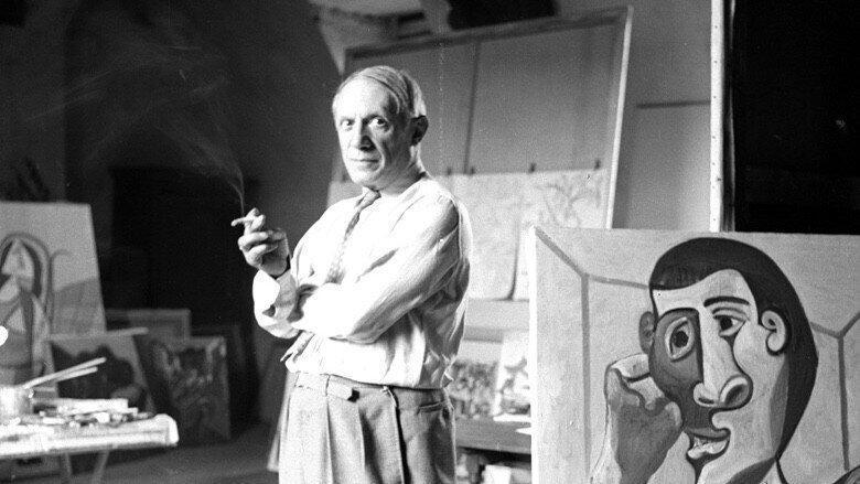 پرتره سیاه قلم که پیکاسو از عشق پنهان خود کشید ، تابلوی 9 میلیون پوندی