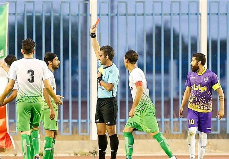 اسامی داوران دیدارهای هفته سی ویکم لیگ دسته اول فوتبال