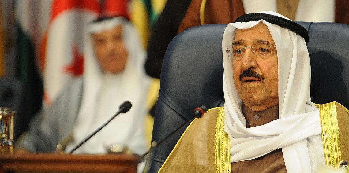 خبرنگاران امیر کویت برای درمان به آمریکا رفت