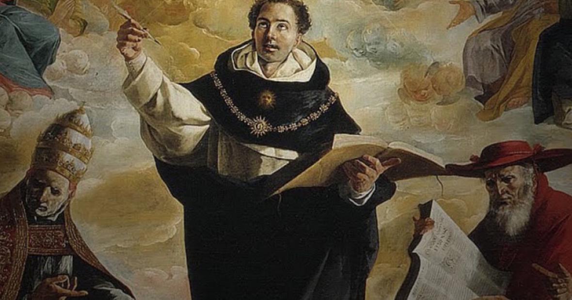 توماس آکویناس ؛ فیلسوف و نویسنده ایتالیایی