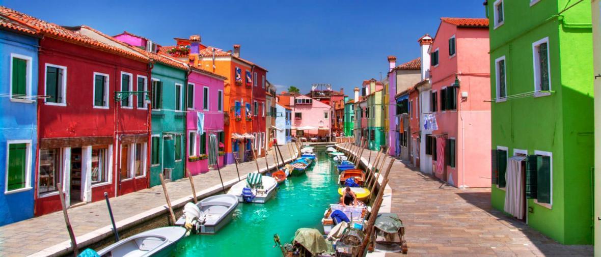 شهرهای رنگی دنیا