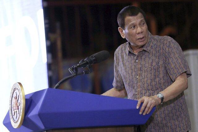 رئیس جمهور فیلیپین آمریکا را تهدید کرد اگر واکسن ندهد توافق نظامی انتها می یابد