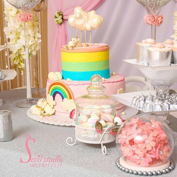 تشریفات و برگزاری مراسم جشن تولد کودک در سالن سویل لند