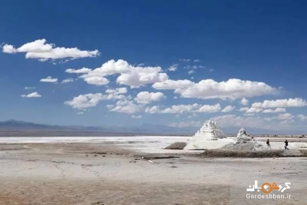 دریاچه نمک چاکا؛ زیباترین و جذاب ترین جاذبه چین، عکس