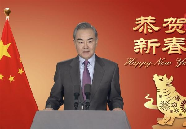 نکته مهم در پیغام سال نو وزیر خارجه چین