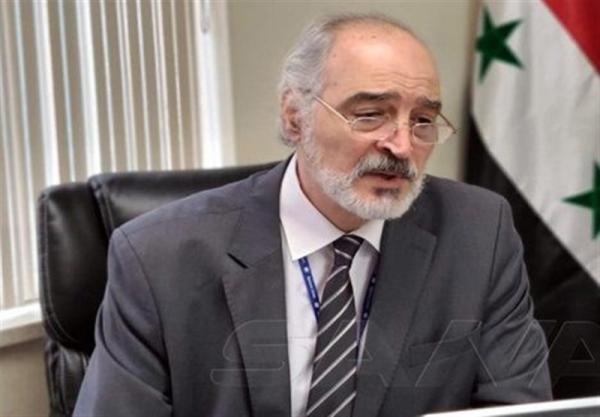 سوریه، شروع ماموریت جدید بشار الجعفری با ادای سوگند در برابر بشار اسد