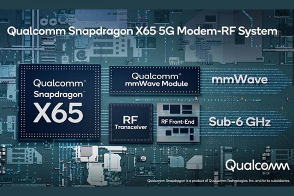 مودم کوالکام اسنپدراگون X65 5G رونمایی شد؛ اولین مودم 5G دنیا با سرعت 10 گیگابیت