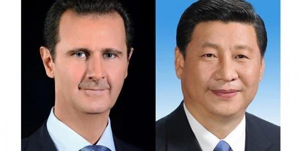 خبرنگاران پیغام رییس جمهوری چین به بشار اسد