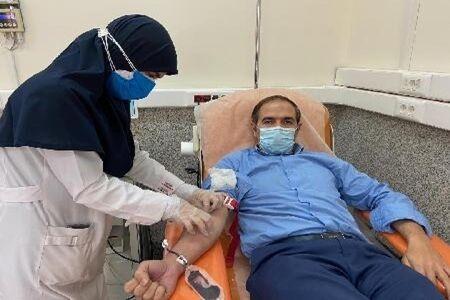 خبرنگاران پارسال بیش از 13 هزار نفر در بروجرد خون اهدا کردند