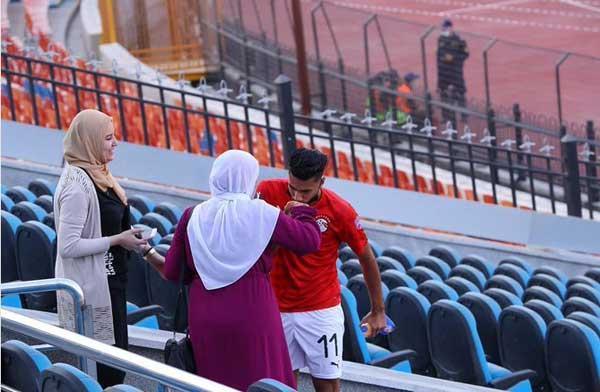 بازتاب حرکت تحسین برانگیز بازیکن مصری در فضای مجازی