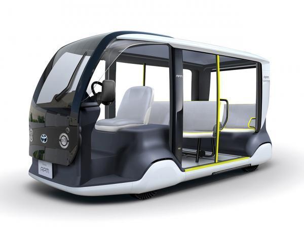 خودرو ویژه تویوتا APM برای بازی های المپیک 2020 چگونه است؟