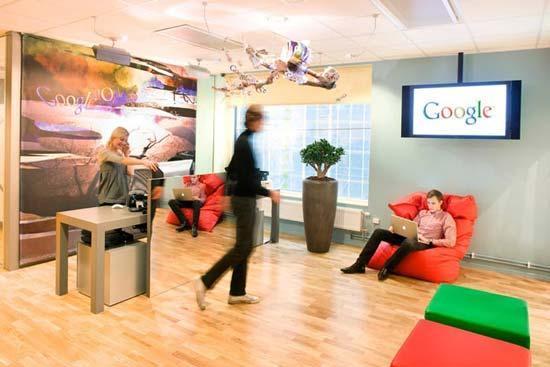 فضای منحصربفرد دفاتر شرکت گوگل