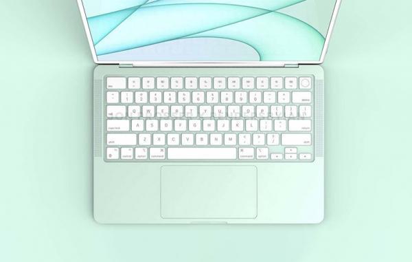 مک بوک ایر نو با نمایشگر Mini، LED و رنگ های مختلف نیمه 2022 عرضه می گردد