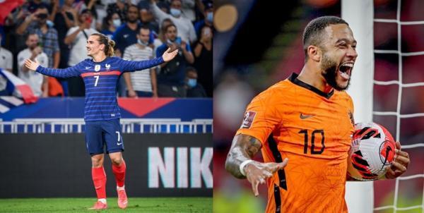 تور فرانسه ارزان: هلند با ستاره بارسا ترکیه را به توپ بست، فرانسه خاتمه طعم برد را چشید