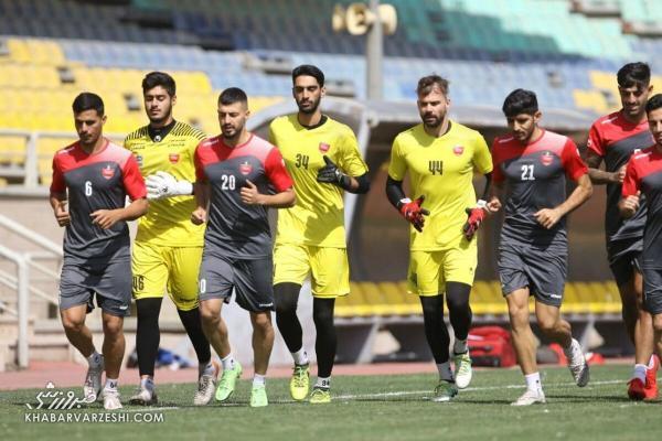 2 بازیکن پرسپولیس به تاجیکستان نمی فرایند