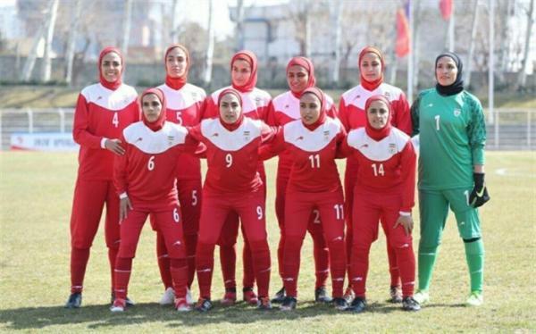 ترکیب ملی فوتبال زنان ایران برای ملاقات مقابل بنگلادش اعلام شد